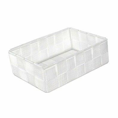 Compactor Úložný organizér do zásuvky M TEX, 18 x 12 x 7 cm, biela
