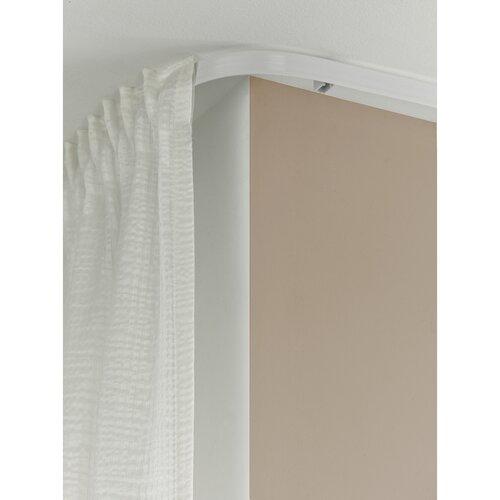 Koľajnica FlexLine ohybná biela, 350 cm