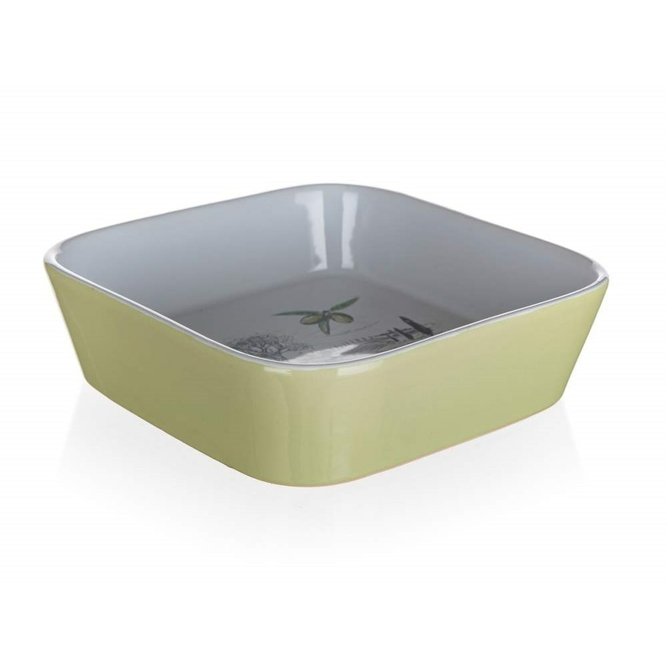 Banquet Keramická zapekacia miska OLIVES, 21 x 21 x 5 cm