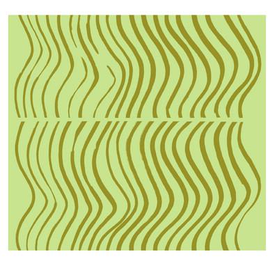 Tapeta Silkkikuikka 70 x 100 cm, zelená/zelená