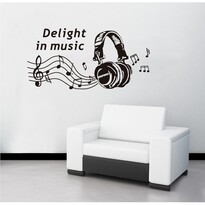 Naklejka dekoracyjna Delight in music