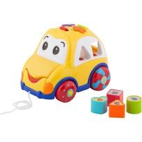 """Wkładanka Buddy Toys BBT 3520 """"Samochód"""" żółty"""