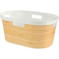Curver 04762-B45 koš na čisté prádlo Infinity 39 l, bambus