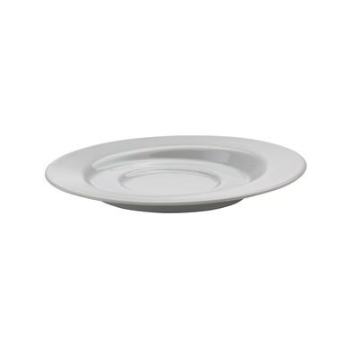 Podšálek Amfio 16 cm, bílý