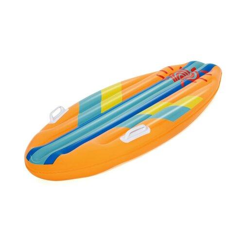 Bestway Dětský surf Sunny Rider, 114 x 46 cm, oranžová
