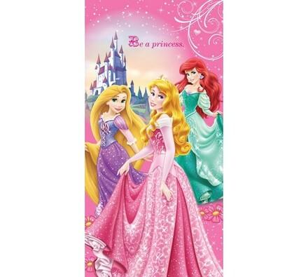 Osuška Princezny, 70 x 140 cm, růžová, 70 x 140 cm