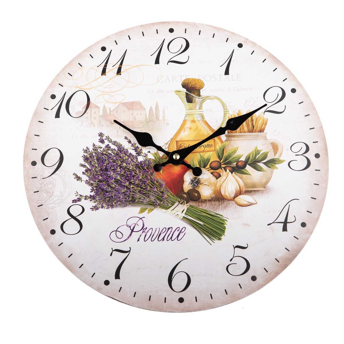 Zegar ścienny styl Provence, 34 cm