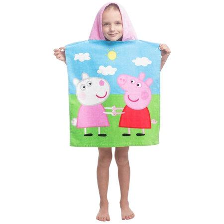 Jerry Fabrics Dětské pončo Peppa Pig 013, 50 x 115 cm