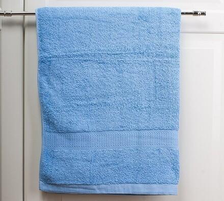 Plážová osuška světle modrá, 70 x 140 cm