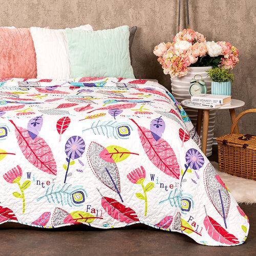4Home Prehoz na posteľ Karine, 140 x 220 cm