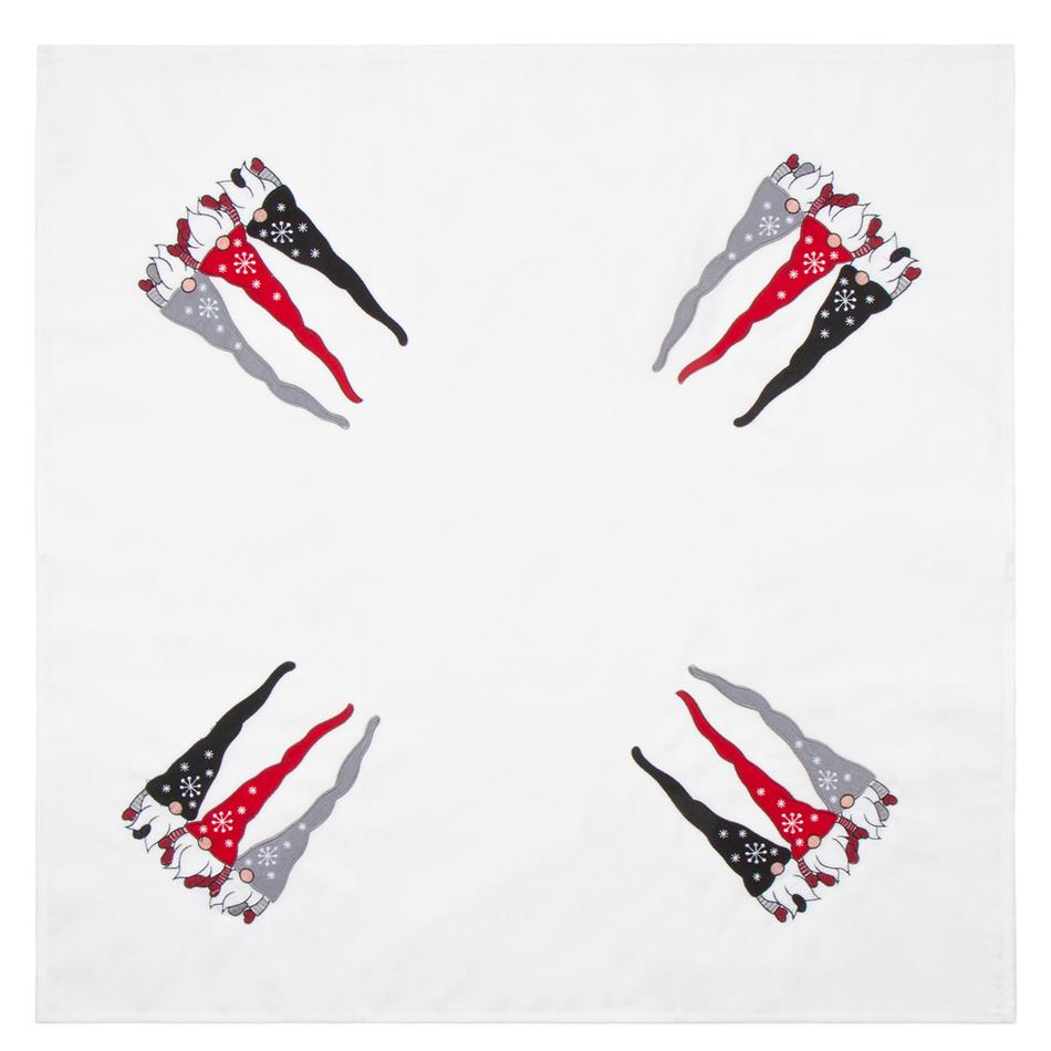BO-MA Trading Ubrus Trpaslíci, 85 x 85 cm