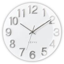 Nástenné hodiny Lavvu Nord White LCT1061 biela, pr. 30 cm