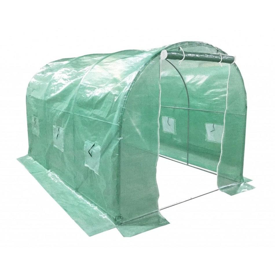 Fóliovník XL 400 x 250 x 200 cm, zelená