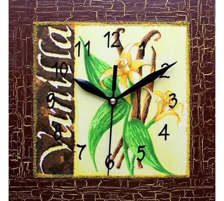 Nástěnné hodiny vanilka
