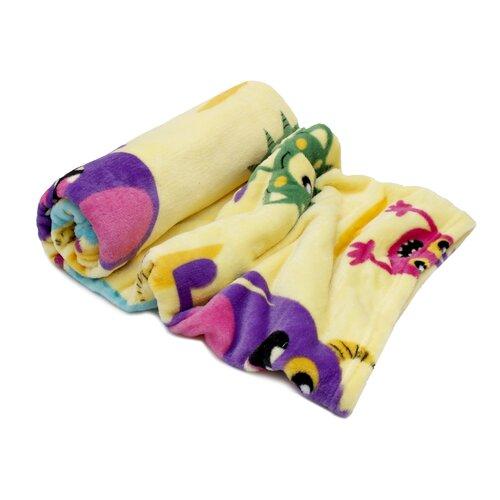 Domarex BUGS takaró, sárga, 130 x 160 cm