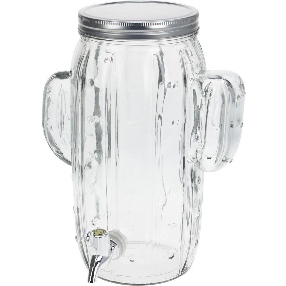Džbán na nápoje s viečkom a ventilom Cactus, 4 l