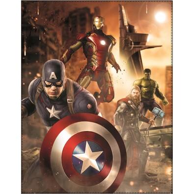 Dětská deka Avengers Age of Ultron, 110 x 140 cm