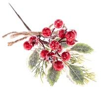 Dekorační zimní větvička Kare, 24 cm