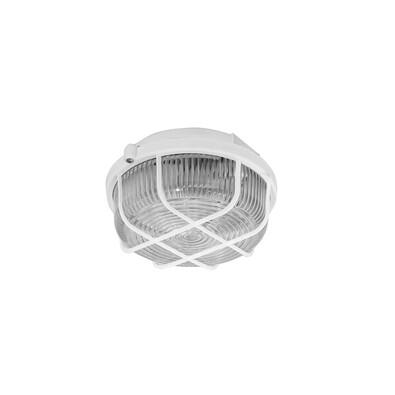 KRUH přisazené stropní a nástěnné kruhové svítidlo, 100W, bílá