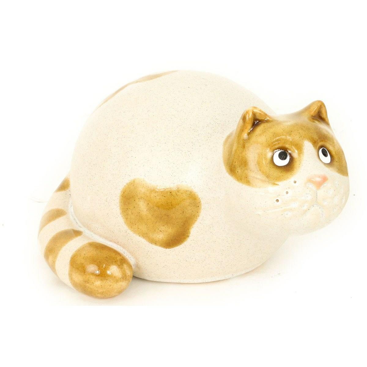 Keramická dekorace Kočička, 15,8 cm
