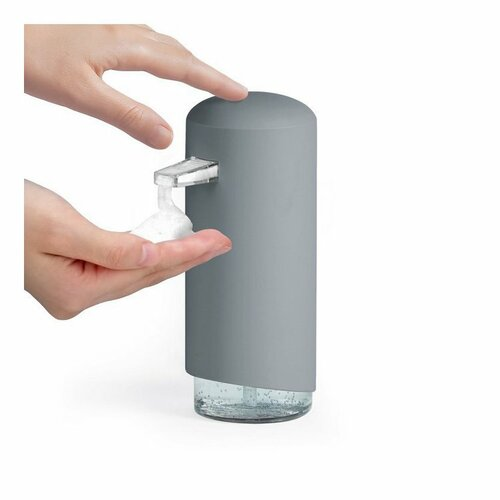 Compactor Dávkovač mýdlové pěny Clever 360 ml, šedá