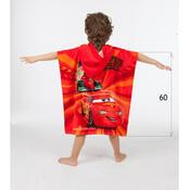 Dětské pončo Cars 2014, 60 x 120 cm