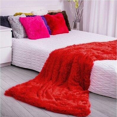 Domarex XXL Corona takaró/ágytakaró, piros, 200 x 220 cm