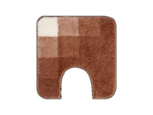 WC předložka Grund UDINE hnědá, 50 x 50 cm