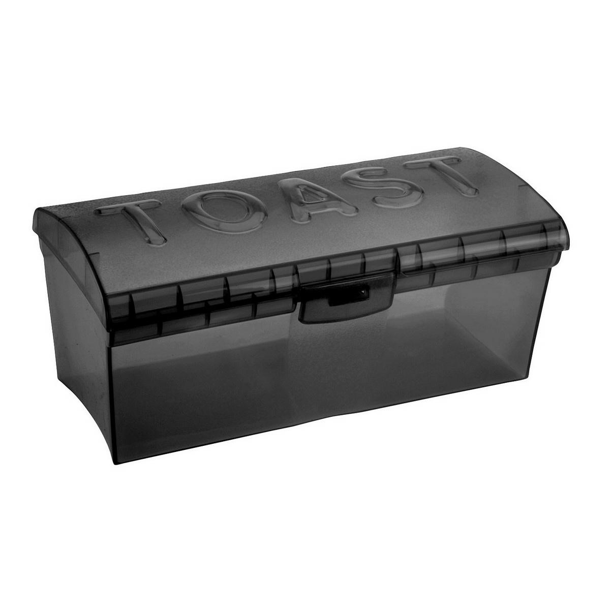 Box na toustový chléb, černá
