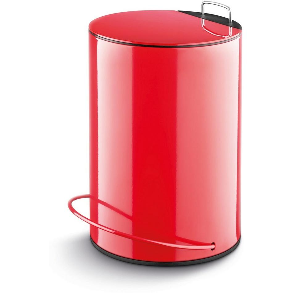Lamart LT8009 DUST odpadkový koš 13 l červená, 13 l
