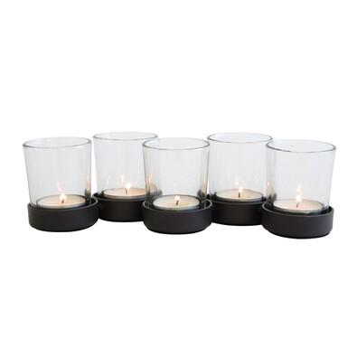 Svícen na 5 čajových svíček