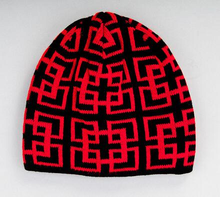 Pánská čepice Karpet 5142, červená