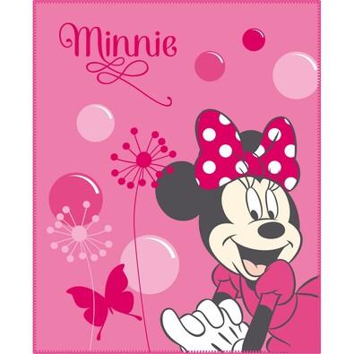 Dětská deka Minnie New Shoes Pink, 110 x 140 cm