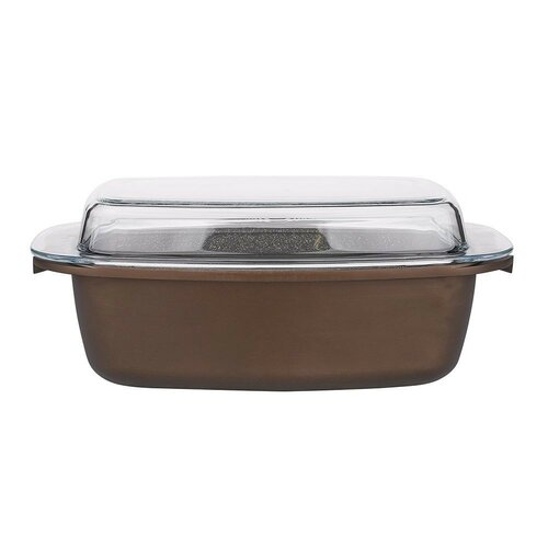 Valdinox Aurum sütőtál fedővel, 32 x 21 cm