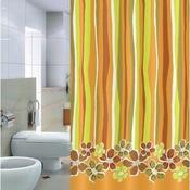Sprchový závěs Pesaro oranžová, 180 x 200 cm