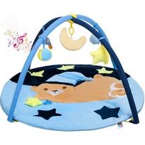 PlayTo Hrací deka s melodií spící medvídek, 87 cm
