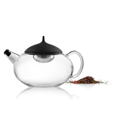 Čajová konvice Glass Teapot 1 l, černá