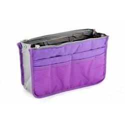 Organizér do kabelky fialová