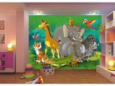 Fototapeta dětská ZOO 360 x 270 cm