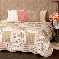 4Home Narzuta na łóżko Patchwork, 140 x 220 cm