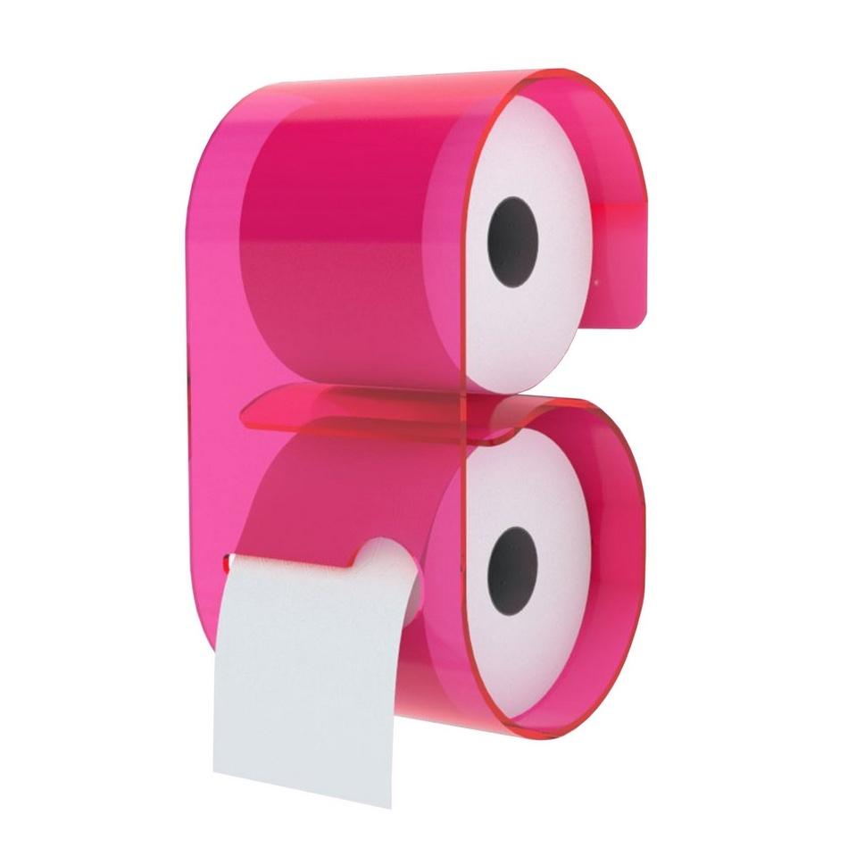 Neon Libving Zásobník B-Roll pre toaletný papier, ružový