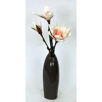 Keramická váza Acre hnědá, 25,5 cm