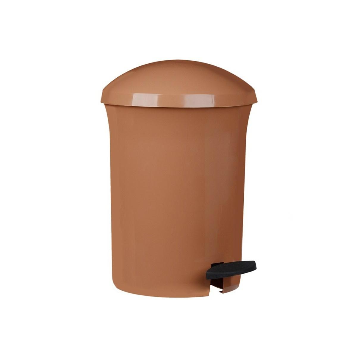 Aldo Pedálový odpadkový kôš Dust Bin 8,1 l, hnedá
