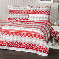 Lenjerie bumbac 4Home Red Nordic