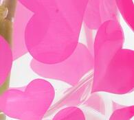 Skládací váza velká, růžová