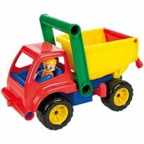 Lena billenős teherautó figurával, 27 cm