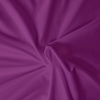Saténové prostěradlo tmavě fialová, 100 x 200 cm