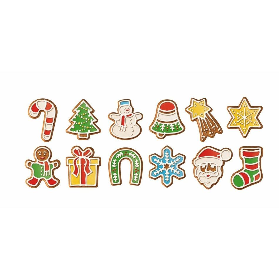 Vykrajovačky vianočné ozdoby Tescoma DELÍCIA 12 ks