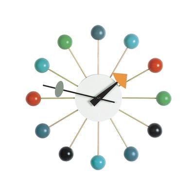 Nástěnné hodiny Ball Clock 33 cm, barevné