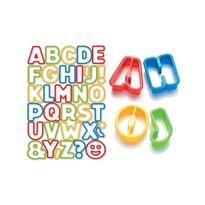 Tescoma Delícia Kids ABC süteményszaggató, 34 db